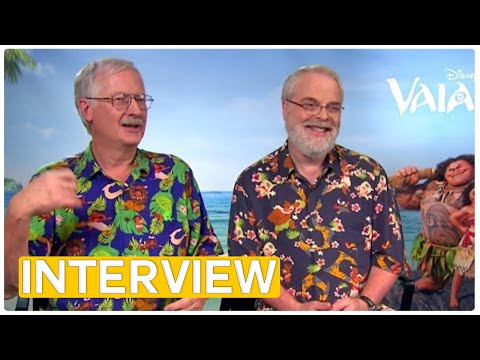 Moana - John Musker & Ron Clements | Interview with the Disney legends Mp3
