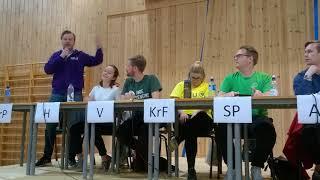 Avslutningsappell skoledebatt Skien vgs 2017