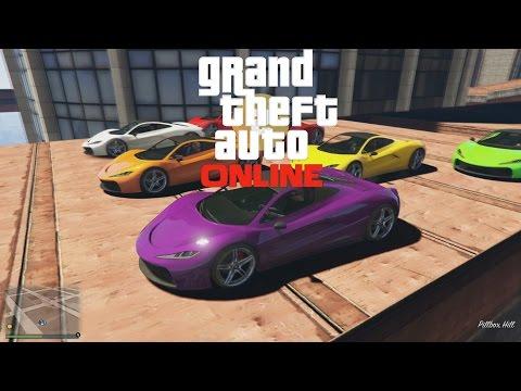 GTAV Online Race (PS4)- NESAMONINGI MAP'AI !