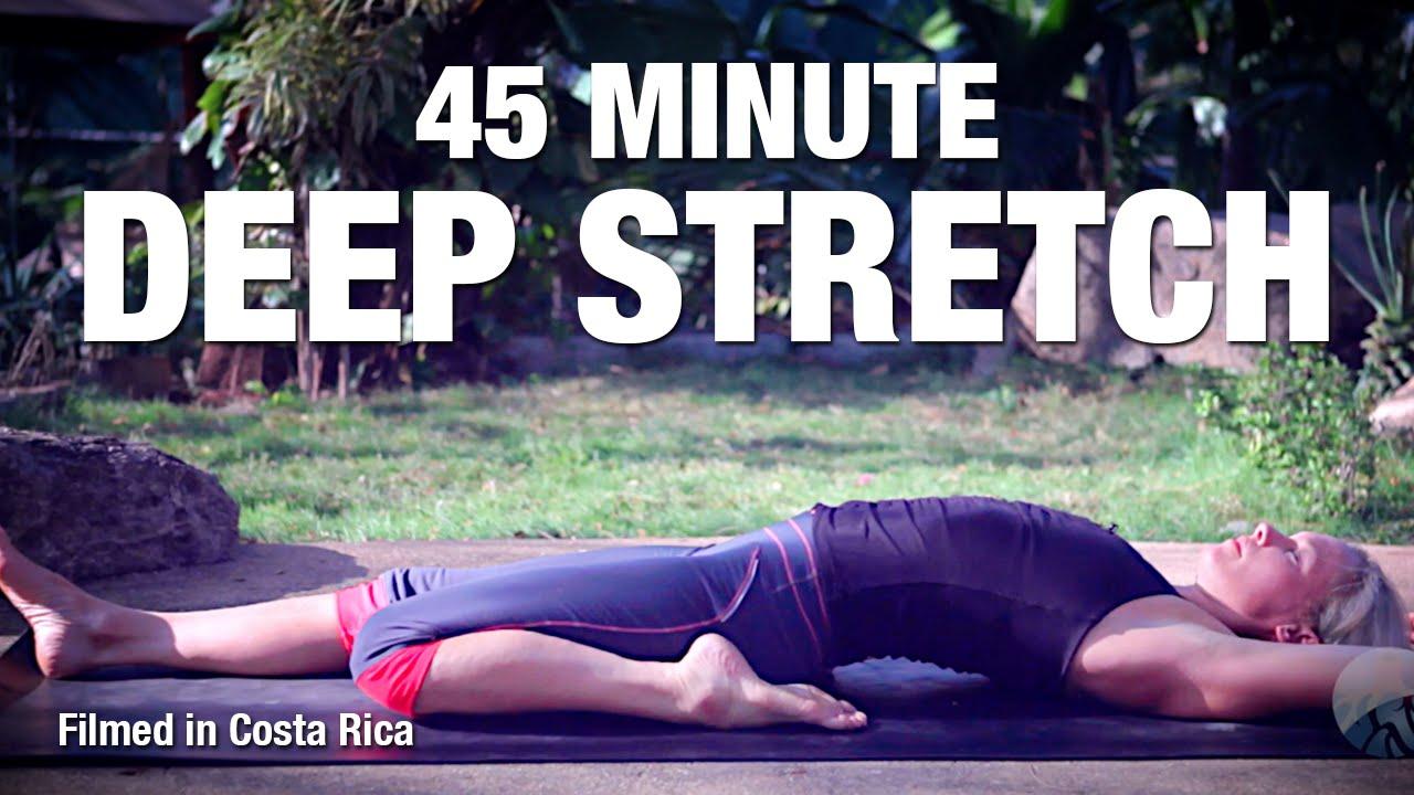 45 Minute Deep Stretch Yoga Class - Five Parks Yoga