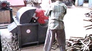 Wood chip Cutter for Gasifier Feed Prepe...