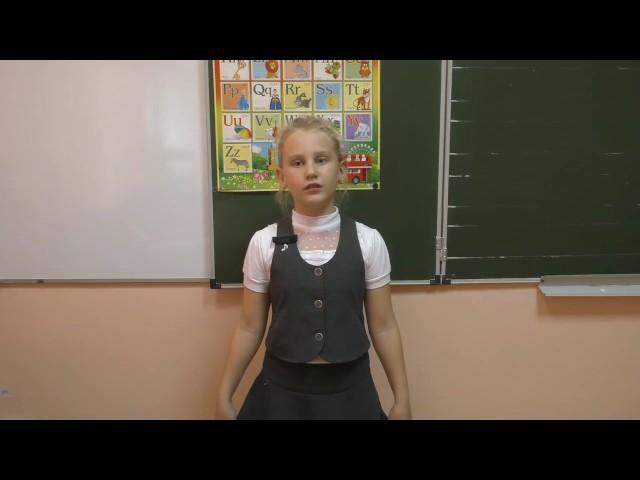 Изображение предпросмотра прочтения – ВалерияКудрявцева читает произведение «Лебедь, Рак и Щука» И.А.Крылова