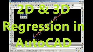 2d 3d regression in autocad lines circles spheres planes innersoft cad 2 9