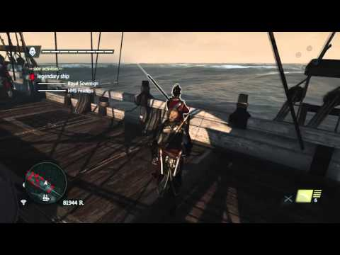 Assassin's Creed IV Black Flag Easy HMS Fearless & Royal Sovereign Legendary Ships