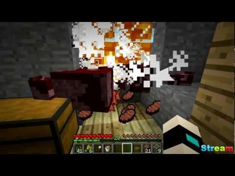 Minecraft Cow Farm!! (Cooked Food) -