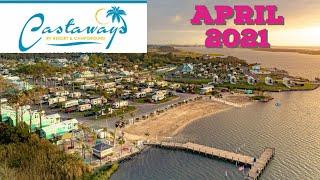 Tour of Castaways Rν Resort / Campground - Maryland 04-03-2021