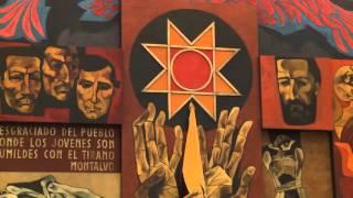 Programa Contigo de Ley 37 - Revitalización cultural Mural de Guayasamín