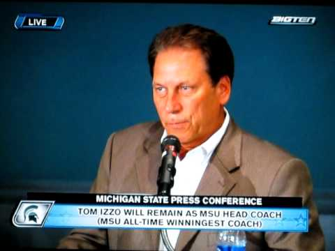 Part 1 Tom Izzo and Lynn Henning (Detroit News)