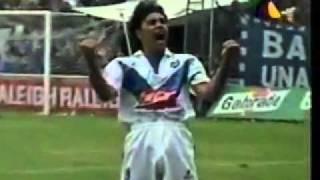 Ultimo gol de Hugo Sanchez en el futbol mexicano (con Celaya vs Pachuca.mp4