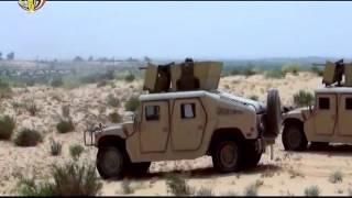 المتحدث العسكري يعرض فيديو مقتل 16 إرهابيًا وتفكيك 24 عبوة ناسفة بسيناء