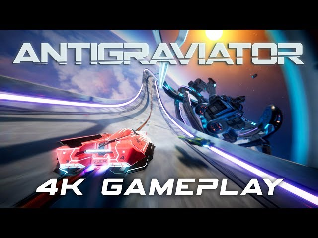 6 minutes of high-speed Antigraviator gameplay in 4K