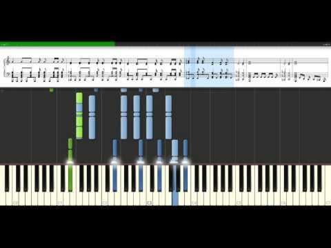 Nickelback - Rockstar [Piano Tutorial] Synthesia