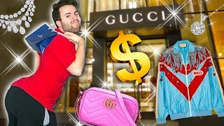 I BOUGHT THE CHEAPEST ITEM AT EVERY LUXURY STORE! Gucci, Fendi, Louis Vuitton!