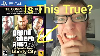 GTA 4 On Ps4 Is It True Or Is It Lies?