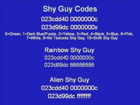 Awesome Action Replay Codes For Mario Kart Ds Youtube