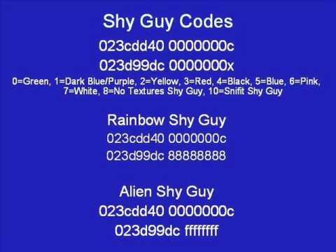 mario kart ds rob cheat code