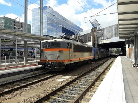 FR#194 - Trafic ferroviaire du vendredi en gare de Rennes - 12/05/17