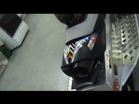 Auto Trim DESIGN Rockstar Energy Drink Promotional Graphic Kit - 2008 Yamaha FX Nytro Snowmobile
