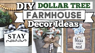 Dollar Tree DIY FARMHOUSE DECOR IDEAS 2020 | DIY HighEnd Home Decor Ideas | Krafts by Katelyn