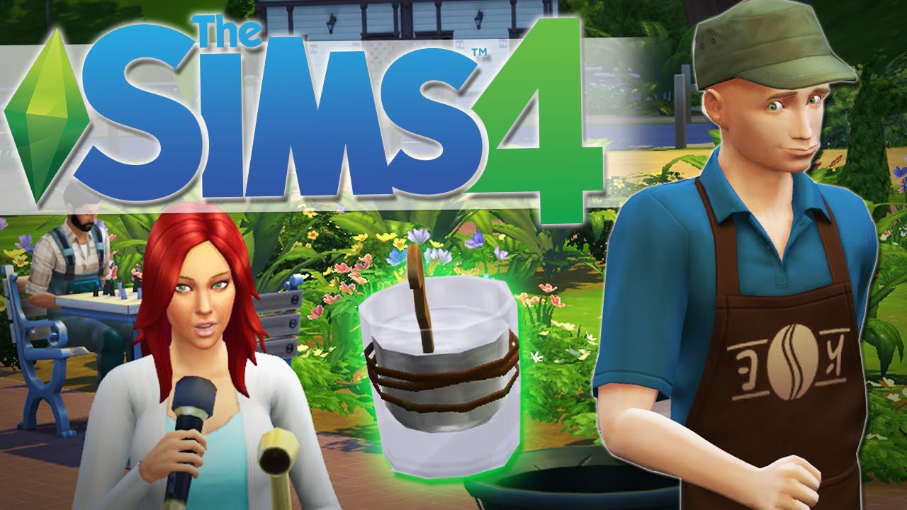 POTION OF YOUTH   The Sims 4 Gameplay #12 - YouTube