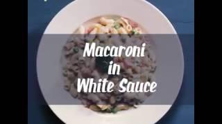 Macaroni in White Sauce with FunFoods Veg Mayo