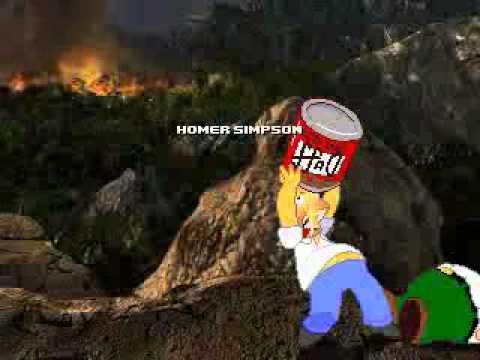 Гомер Симпсон против Питера Гриффина!