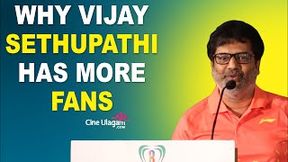 Reason Why Vijay Sethupathi has more Fans | Vivek Speech at