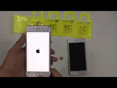 R-SIM 10+ iPhone 6S,6SP, 6P,6,5S,5C,5,4S iOS.9.X Easy Unlocking and Activation SIM