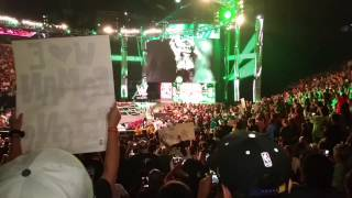 Bow down to the game - Triple H entrance