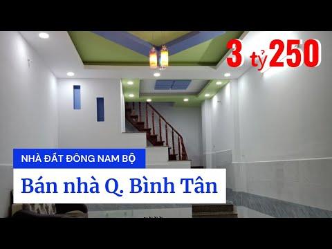 Chính chủ Bán nhà quận Bình Tân dưới 4 tỷ, gần chợ Bình Long, sổ hồng riêng