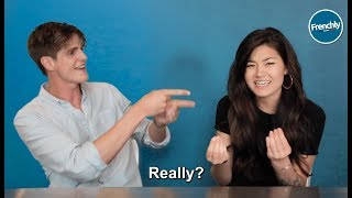 Americans Try to Guess French Hand Gestures