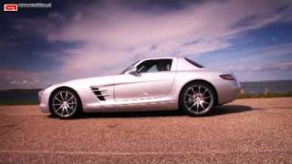 Testing the SLS AMG from Mercedes-Benz