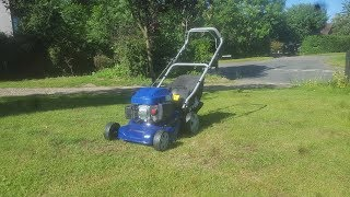 my short review on the hyundai lawnmower model hym43p