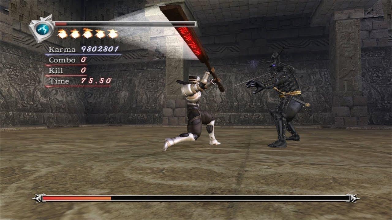 Ninja Gaiden 2004 Chapter 11 Very Hard Old School Karma Method