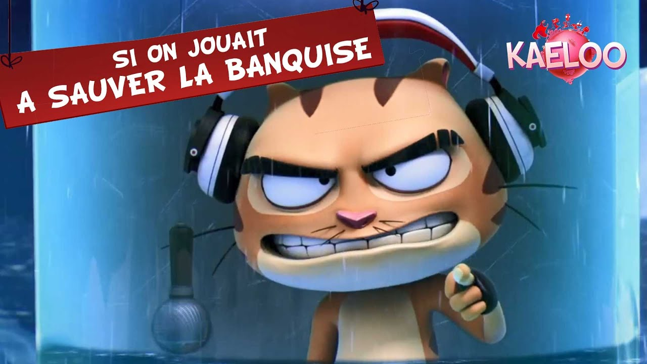 """Download KAELOO - Episode """"Si on jouait à sauver la banquise"""", ton dessin animé sur TéléTOON+"""