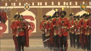 March past presented by the Border Security Force