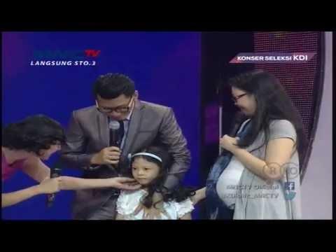 Marcell Aulia Mendapatkan Surprise Ulang Tahun - Konser Seleksi KDI 2015 (24/3)