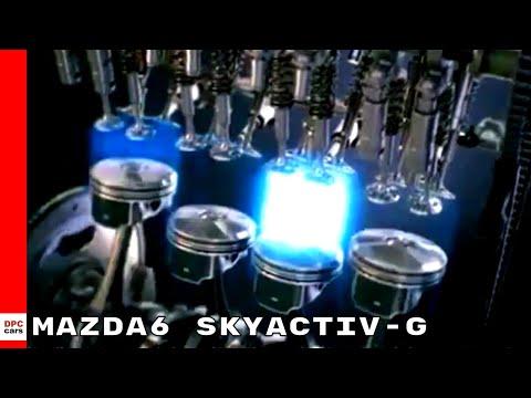 2018 Mazda6 SKYACTIV-G Cylinder Deactivation Engine