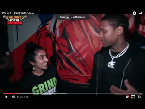 Welcome to the Weekend Interview Lil Durk tells us his dopest moment in the studio