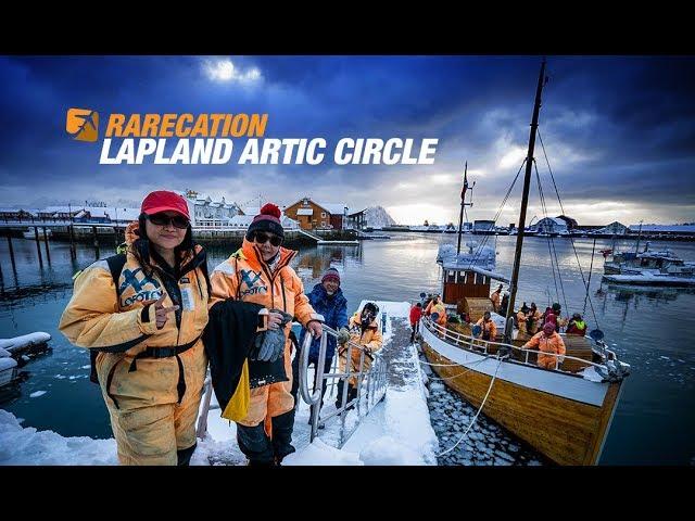 RARE 55 Memancing di lautan Artik!