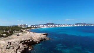 VIDEO CON DRONE BEBOP 2 (SA COMA) MALLORCA 2016