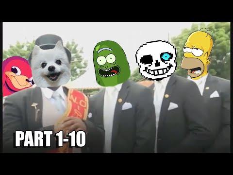 Astronomia - Coffin Dance Meme Cover - Compilation