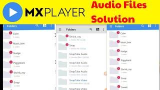 Mx Player Audio Files Solution | Mx player settings | mx player problem screenshot 5