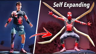 Real Expanding Iron Spider-Man Suit - Actual Crystal Nanotech!!! (No Way Home)