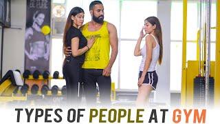 Types Of People At Gym | Sanju Sehrawat | Make A Change