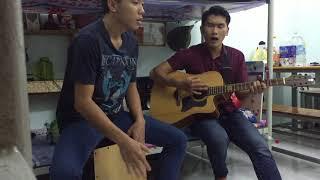 Hương Tràm - Em Gái Mưa Cover Guitar, Cajon