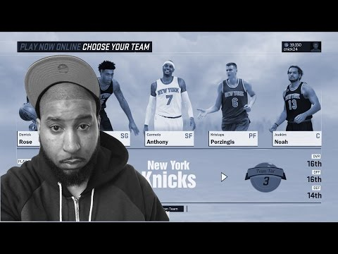 MELO/PORZINGIS ARE UNSTOPPABLE -NEW YORK KNICKS FULL GAME #keepsimalive - ONLINE PLAY NOW