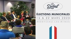 Montceau-les-Mines - Municipales 2020 - Le Débat