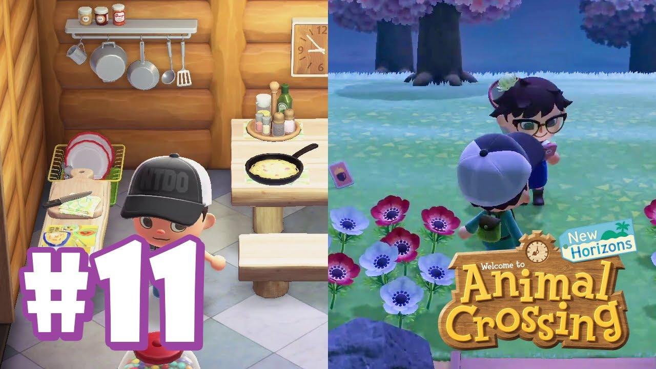 Adding a Kitchen & Visiting Rainfall Island! | Animal ... on Animal Crossing Kitchen Island  id=65527