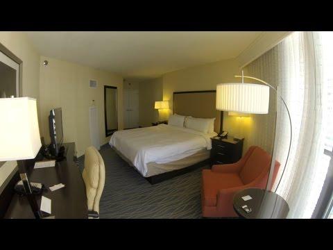 Miami Marriott Biscayne Bay Balcony Room Tour 2015